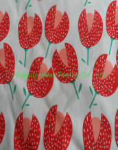 100% cotton printed poplin fabric for kids garment