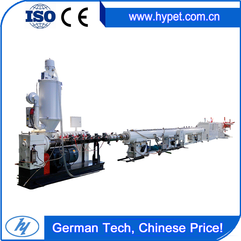 Stainless steel HYJB-63 single extruder production line 20-63mm pe pex pipe machine supplier