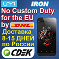 Original UMI Android 5.1 Cell Phone UMI IRON MTK6753 16GB 1920 x 1080 13.0MP Unlocked Phone