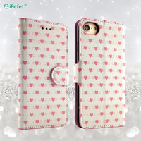 Custom Design Flip PU Leather Phone Case for iPhone 7 Plus