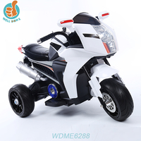 WDME6288 Sport Outdoor Strong Ride On Motorcycle Toy With Three Wheels