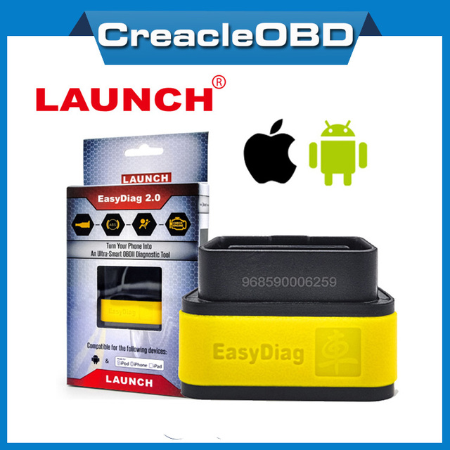 Launch x431 EasyDiag for IOS and Andriod easy diag 2 in 1 OBDII Generic Code Reader OBD2 scanner easydiag