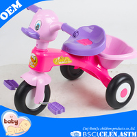 3 wheel bicycle car for child/ children manual ride on car/ kids tricycle for wholesale