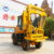 ground mini screw fence post pile driver hydraulic guardrail piling driver