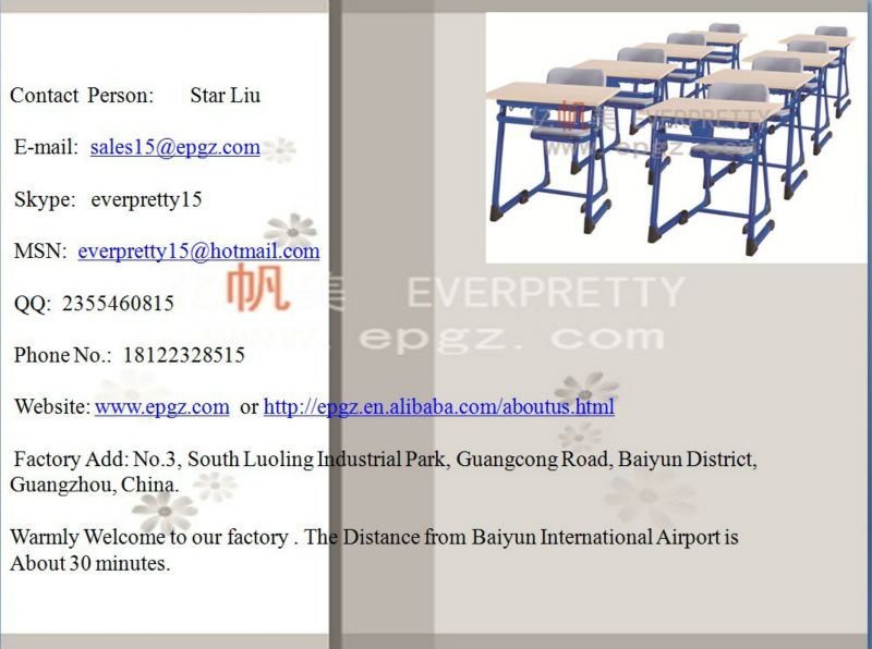 Desk chair table school,Junior school single desk and chair,Furniture schools
