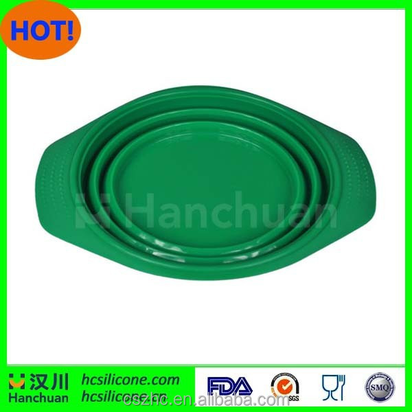 FDA&LFGB microwaveable commercial silicone handle pot silcone steamer