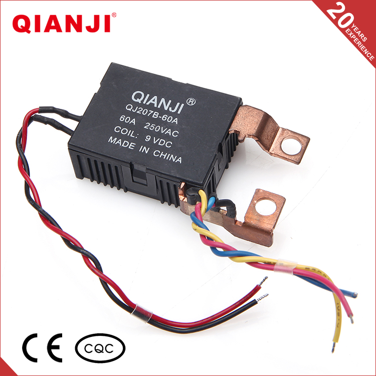 QIANJI Low Price Long Service Life Silver Alloy Latching 60A Relay
