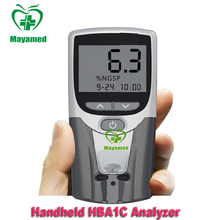 MY-B034 Portable Handheld HBA1C Analyzer hemoglobin test meter for better diabetes care