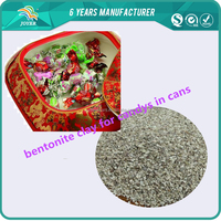 Industrial chemical with japanese print warnings paper packed bentonite clay desiccant clay