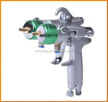 New type of 2015 sandblasting guns and type of jobs used nano chrome double nozzle gun