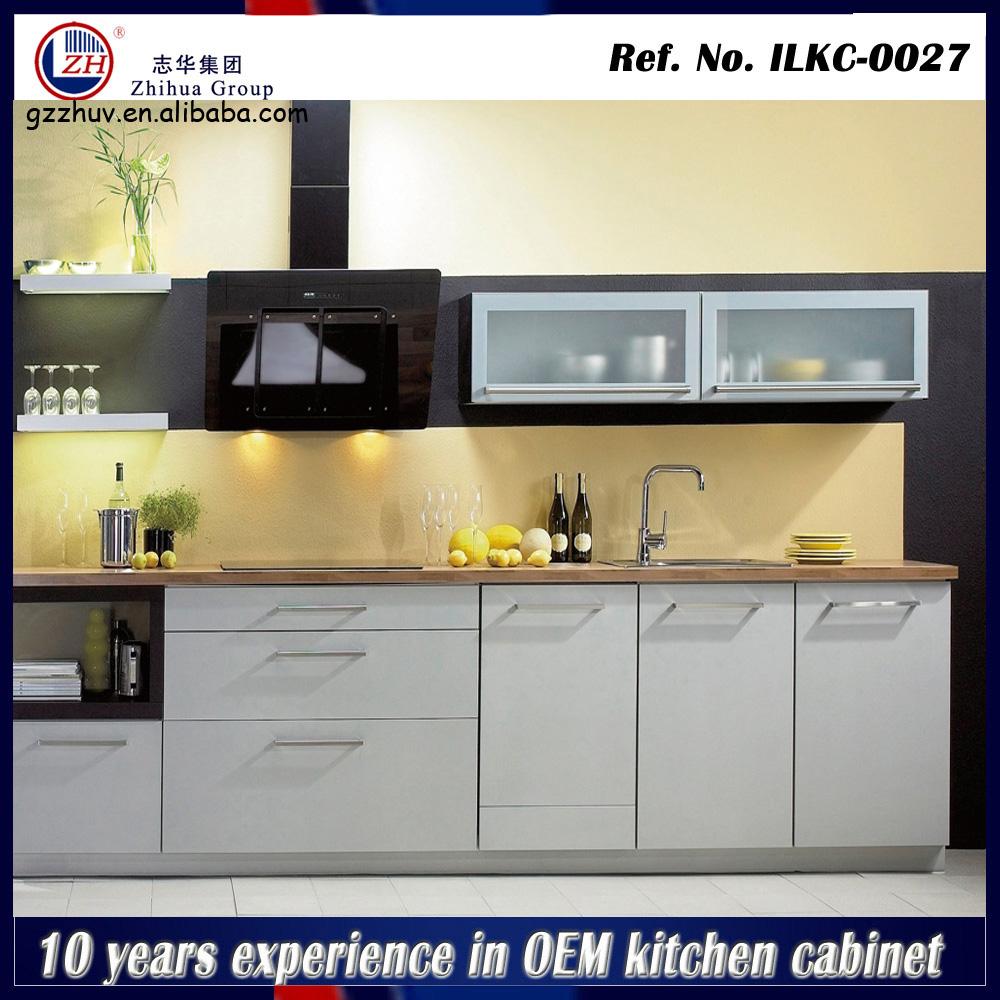 modern high gloss kitchen cabinet laminated kitchen painting laminated particle board kitchen cabinets