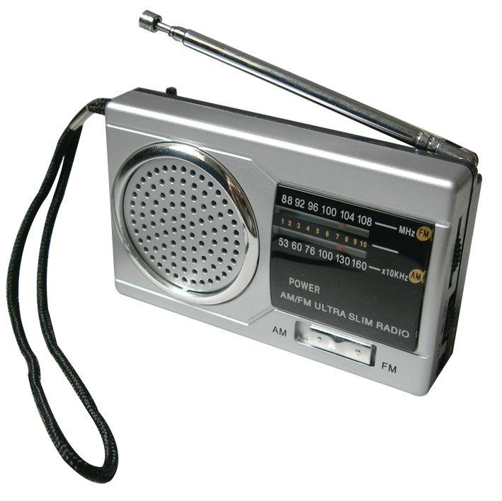 manufacturer hot selling AM/FM two Band Radio with Speaker
