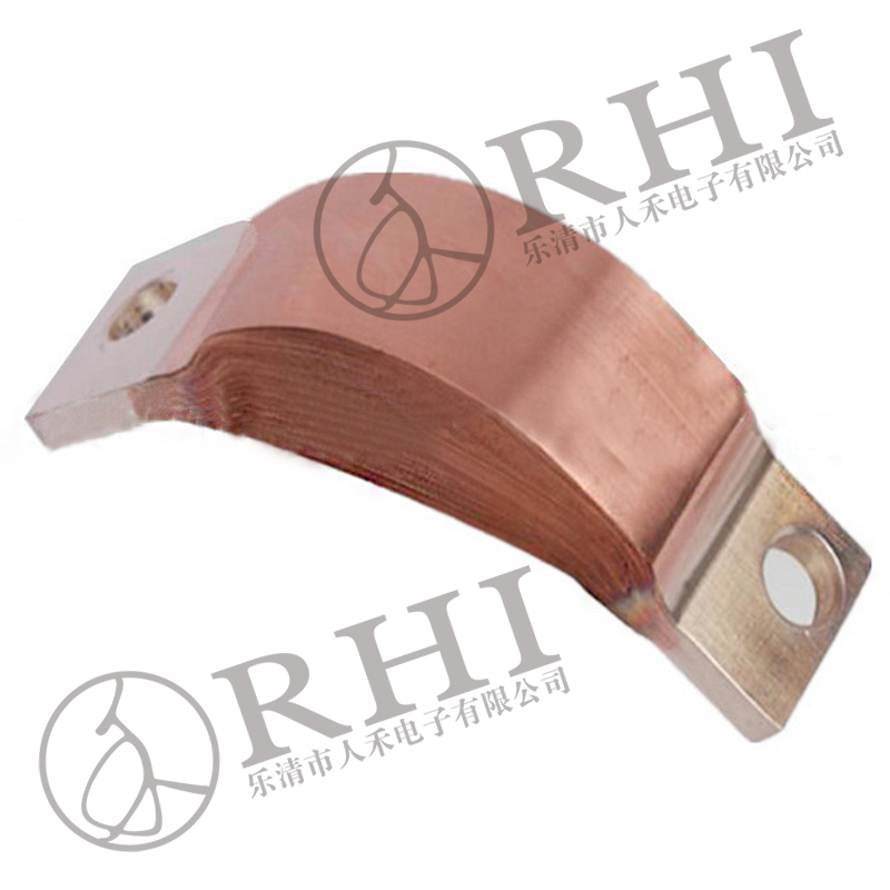 flexible copper earthing bar earth ground bar electrical bus bar