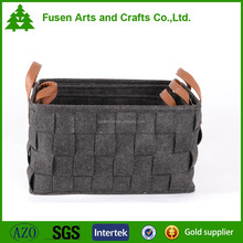 Basket made of 100% polyester felt made in China