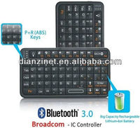 Broadcom ABS Mini Backlit Bluetooth Keyboard With Backlight Function Bluetooth 3.0 for iPhone