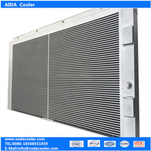 Hitachi hydraulic fan oil cooler ZX470LCH-3 heat exchanger