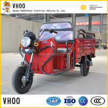 2017 best price electric tricycle cargo electric rickshaw for indian for sale/Large Loading Electric Cargo Tricycle