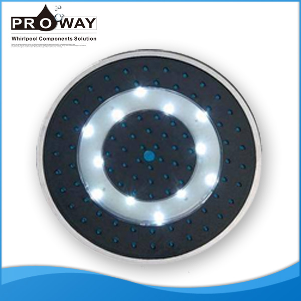 Overhead Shower LED Temperature Detectable Shower Rainfall Shower Head