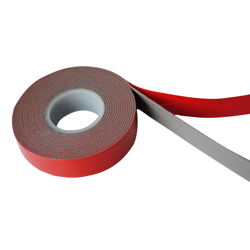 Shockproof Red Liner Pure Acrylic VHB Foam Adhesive Tape