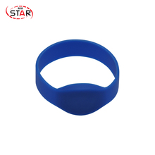 Cheap Custom Medical Rfid Bracelets Silicone Rubber Wristbands with chip Hitag 2