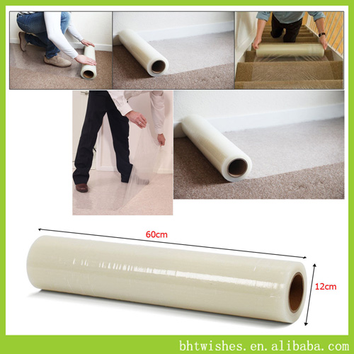 60cm x 100m long Roll Carpet Protector Film