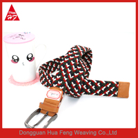 new fashion braided elastic rope stretch trouser belt, elastic belt, braided belt