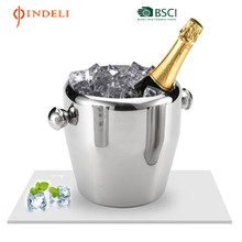 206 Stainless steel ice champagne cooler ice bucket