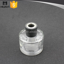Fragrance Oil empty Clear Glass reed diffuser container