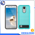 factory price hybrid bling cover case diamond case for lg lv5
