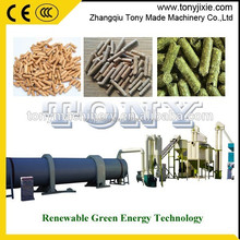 Reasonable price haulm pellet line/corn stem pellet making line/millet straw pellet plant
