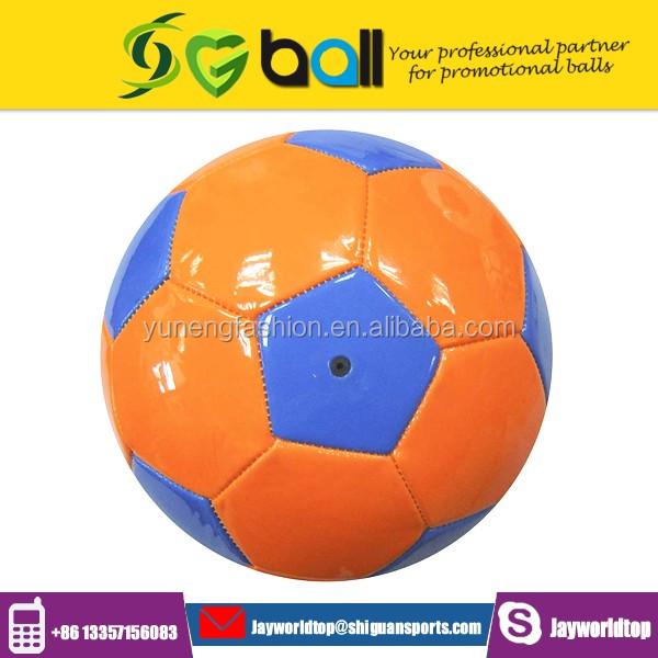 Machine Stitched with 32 Panels PVC Full Printing Soccer Ball