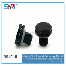 LED protective vents plastic screw m10 waterproof plastic vent plug to prevent condensation and balance pressure