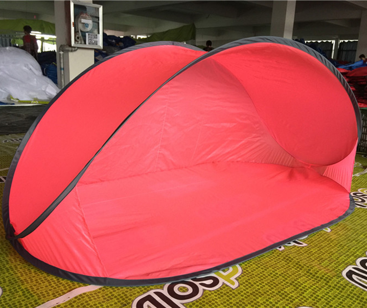 2017 New design spring steel wire pop up tent With Long-term Service
