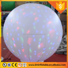 inflatable led lighting balloons for wedding decoration
