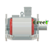 2018 New Generator!5kW 350RPM magnetic motor,low rpm high efficiency for wind use.