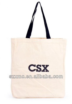 Custom durable tote bag linen bag wholesale