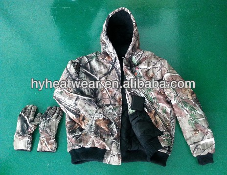 Battery Heated Winter Hunting Clothing,Electric Heated Hunting Clothing