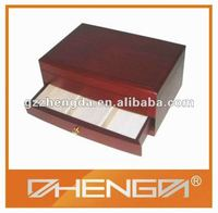 High quality customized made-in-china Small Wooden Drawer Storage Box (ZDS13-020)