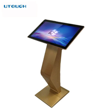 22 inch Indoor Floor Stand LCD touch screen monitor for indoor information query