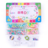 Wholesale Toys DIY Beads Set Polymer Clay Jewellery Toys DIY Beads Making Kit