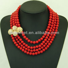 Women's Newest Corals Costume Jewelry Gifts (SWTN752-2)