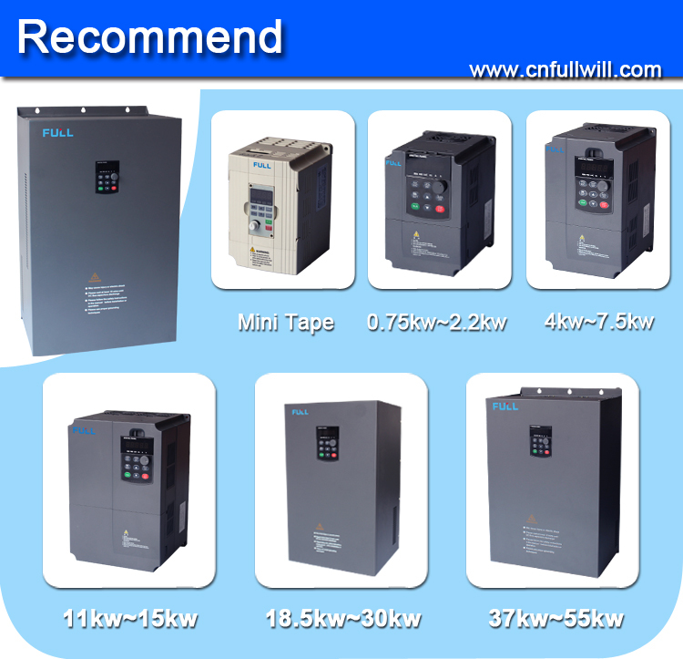 Frequency inverter for three phase motors china vfd for Inverter for 3 phase motor