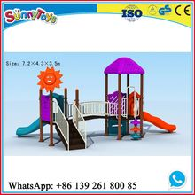 2014 New Sunny Toys commercial colorful outdoor small playground set for toddlers ST.KS264