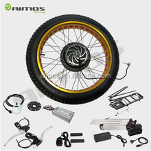 Factory supplier electric bike kit with battery voltage 36v/48v and motor power 250w 350w 500w 750w