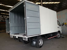 Refrigerator Truck/steel Material steel side curtain parts of truck body