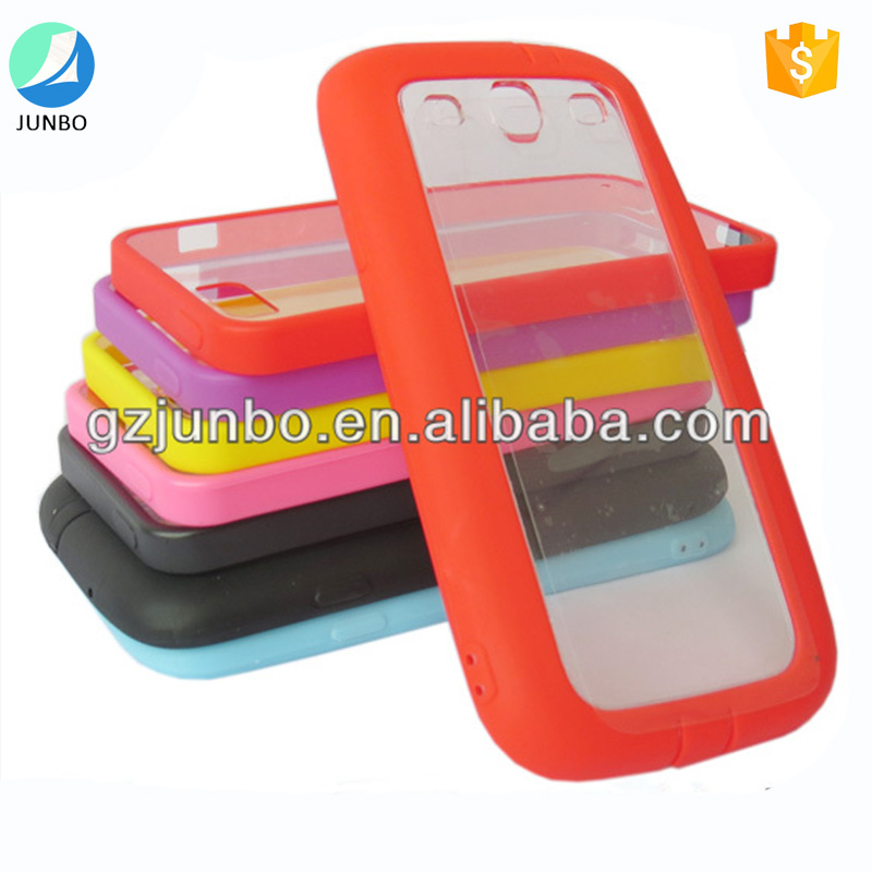 High quality mobile accessories multiple color soft tpu bumper case for samsung galaxy S3 i9300