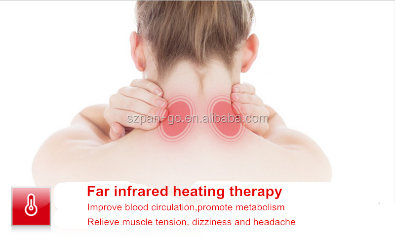 Health-care and Home use Neck Pain Relief TENS Infrared Heating Massager Neck Relax