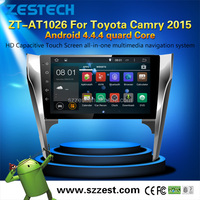 Quad-core Android 4.4.4 10.2 inch Car dvd player for Toyota Camry 2015 touch screen car stereo with sat navi head unit