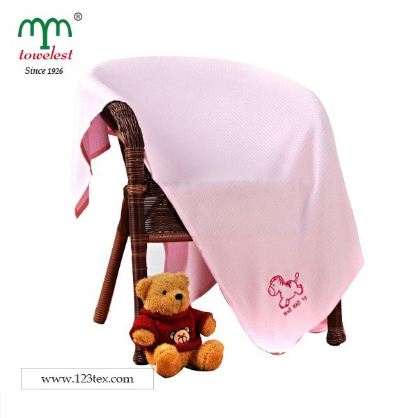 51x51 inch embroidery bamboo fabric kids blanket summer blanket home textile from China supplier