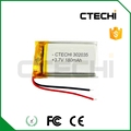 LIPO 302035 3.7V 180mAh Automobile Data Recorder battery